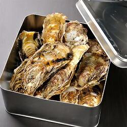豪快! 漁師の牡蠣カンカン焼きセット