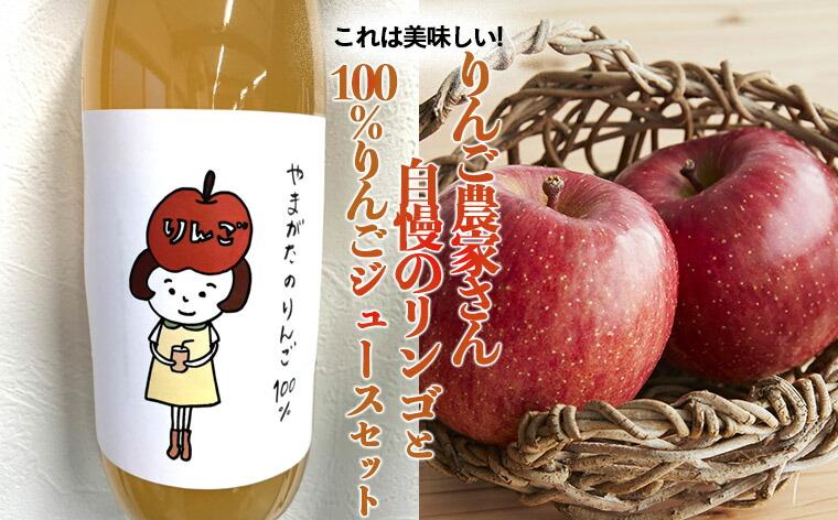 山形県山形市 【ふるさと納税】FY21-183 これは美味しい!りんご農家さん自慢のリン...