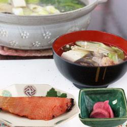 鶴岡ぱぱっとおうち御膳~アンコウ鍋・鮭の味噌粕漬焼きセット~