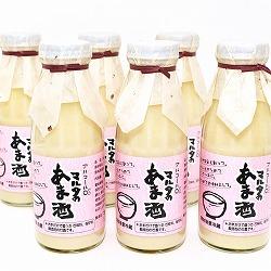 山形県産米のみで造った濃厚甘酒 6本