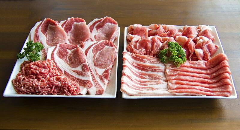 山形県天童市 【ふるさと納税】天姫豚セット2.4kg【山形県 天童市】
