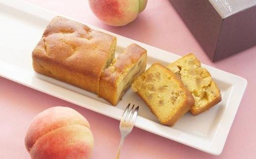 福島県福島市 【ふるさと納税】No.0755 桃のパウンドケーキ
