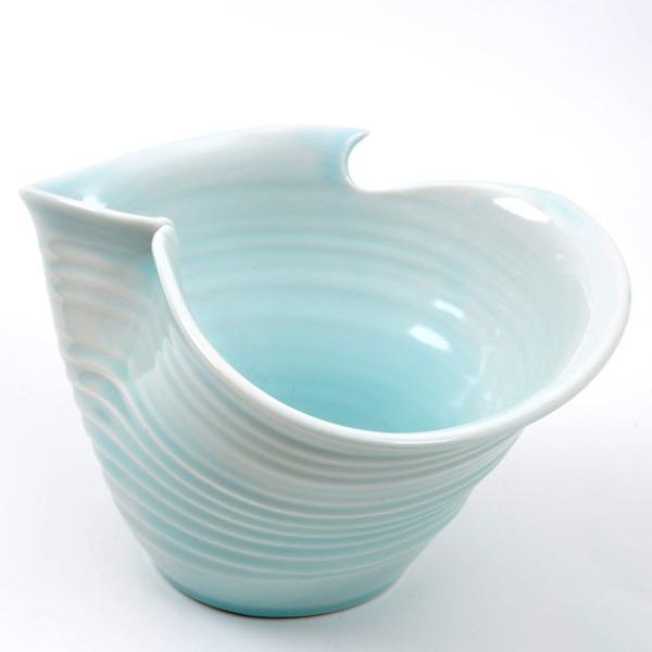 【ふるさと納税】innocent blue ワインクーラー(青白磁)