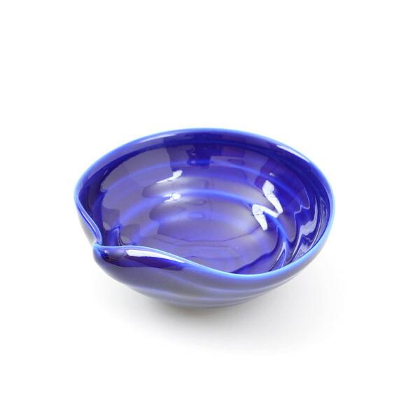 【ふるさと納税】innocent blue 酒盃(瑠璃)