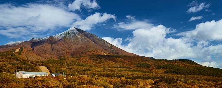 秋の訪れと磐梯山
