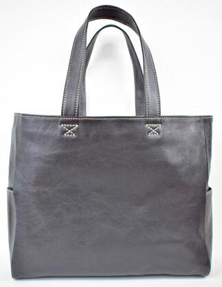 栃木県栃木市 【ふるさと納税】バッグ minca/Tote bag 02/L/BLACK