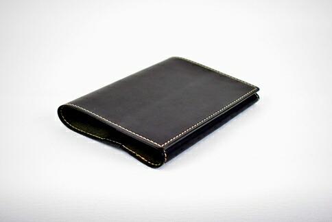 栃木県栃木市 【ふるさと納税】ブックカバー minca/Book cover 01/BLACK