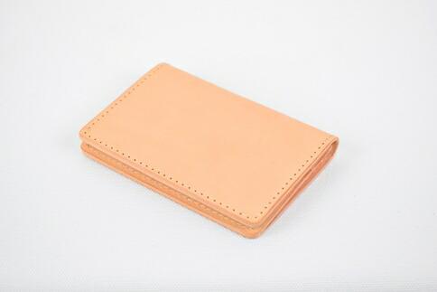 栃木県栃木市 【ふるさと納税】名刺入れ minca/Card holder 01/TAN