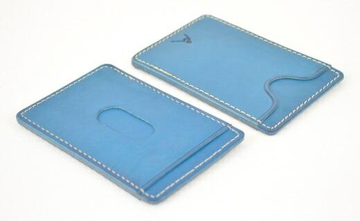 栃木県栃木市 【ふるさと納税】パスケース minca/Pass holder 01/BLUE