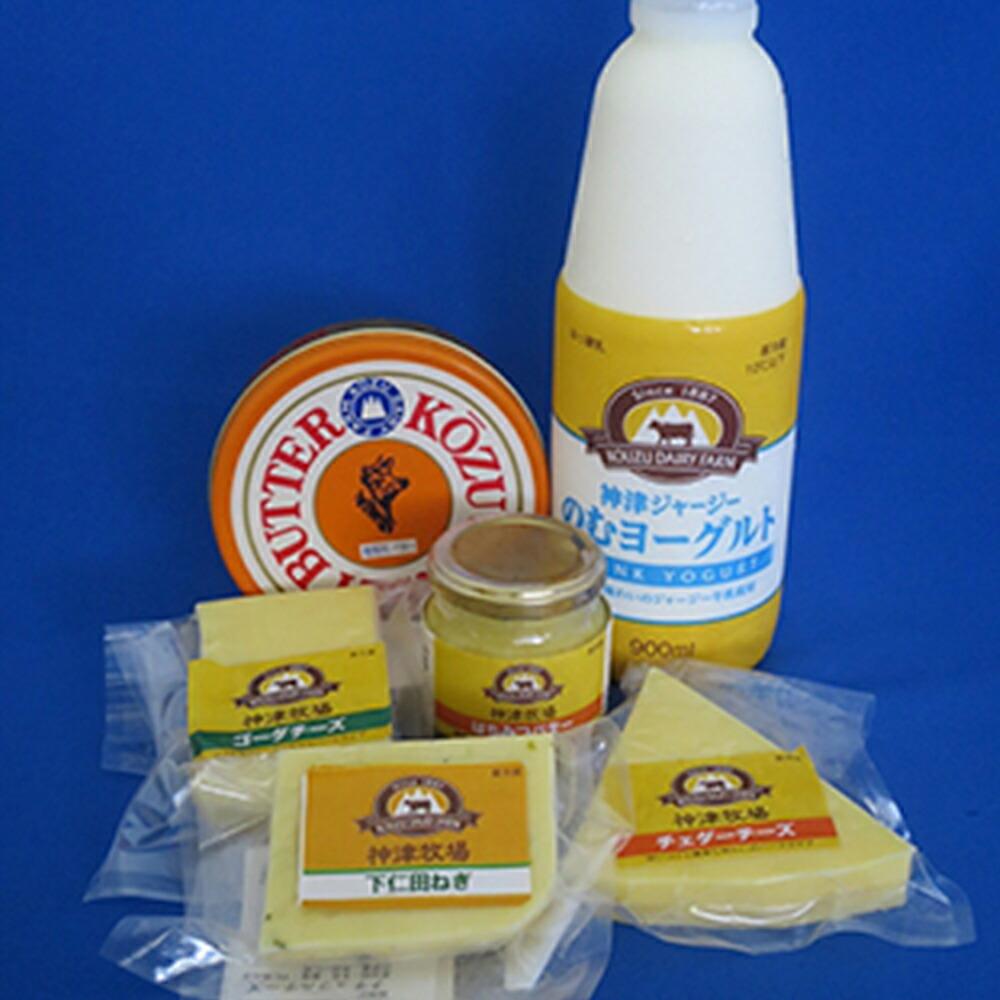 群馬県下仁田町 【ふるさと納税】NEW神津牧場乳製品セット F21K-038