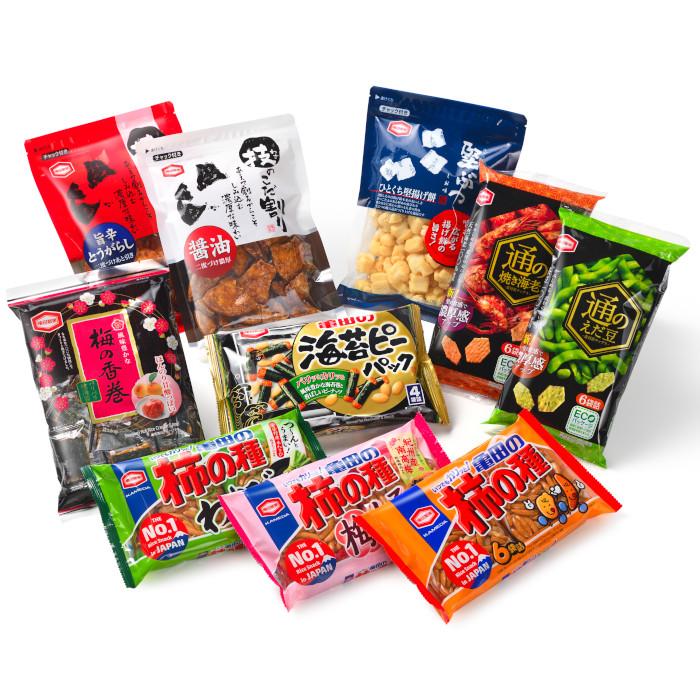 新潟県阿賀野市 【ふるさと納税】亀田製菓 米菓特撰詰め合わせセット