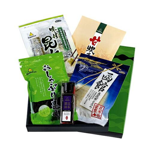 美味百景 菊(国産 昆布 使用 昆布館人気の5種セット)