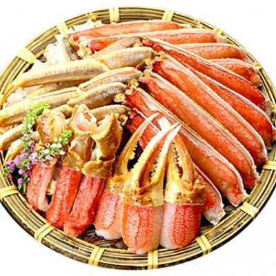 【お刺身OK】甲羅組のカット生ずわい蟹700g×2