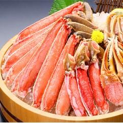 【生食OK】特大&極太サイズ限定!カット生ずわい蟹(高級品/黒箱)