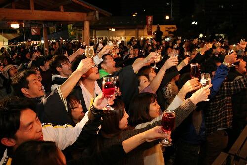 イベントを各地で開催し、笛吹市産ワインをPRしたい