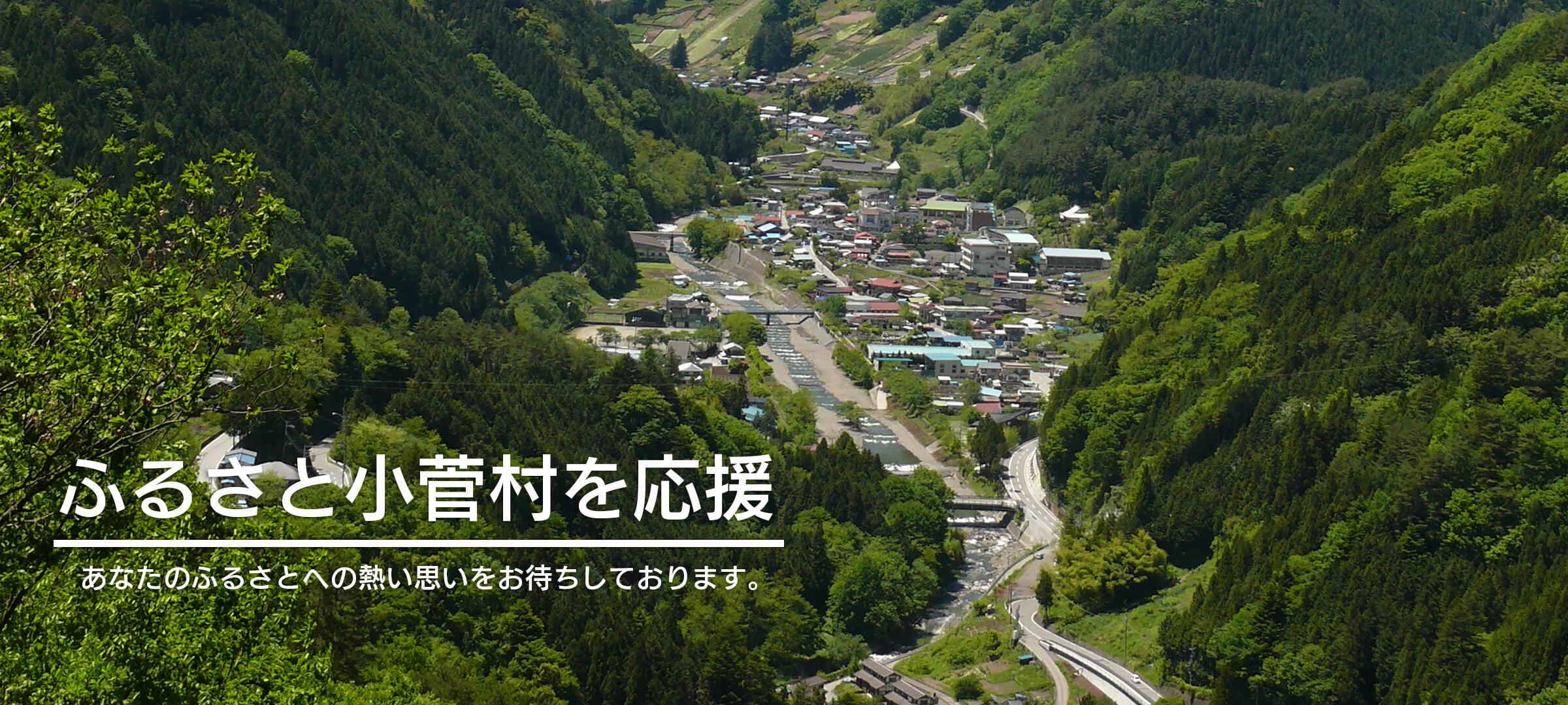 小菅村の現状と取り組み