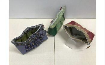 長野県岡谷市 【ふるさと納税】15K-031 畳の縁で作ったポーチセット