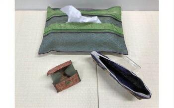 長野県岡谷市 【ふるさと納税】15K-032 畳の縁で作った御朱印帳入れセット