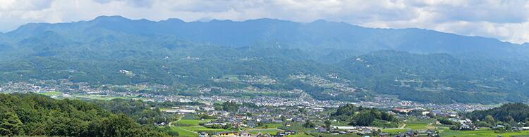 日本一の河岸段丘