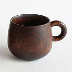 オークヴィレッジ まあるい漆塗マグカップ
