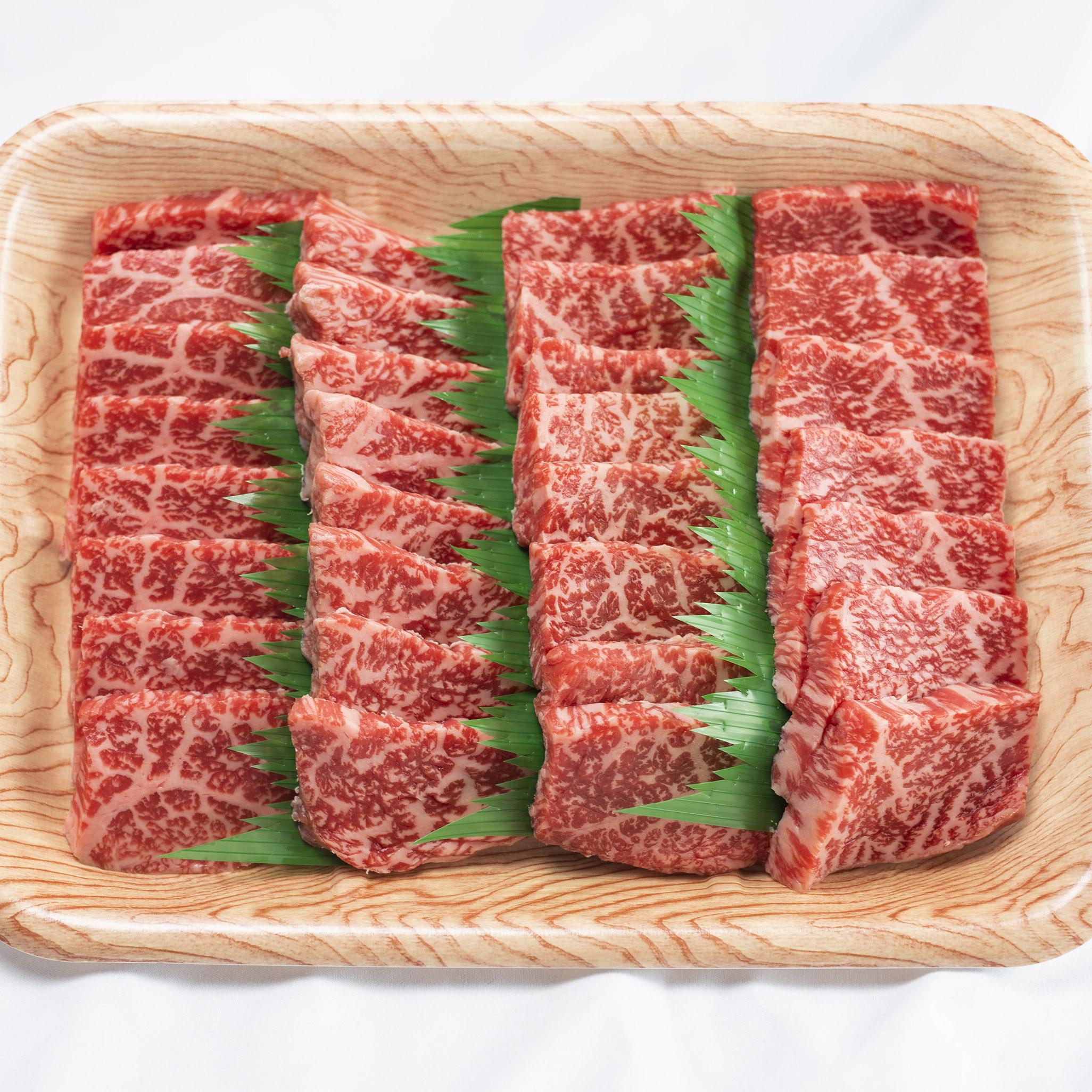 飛騨地域で育ったブランド牛「飛騨牛」最上級品5等級の赤身焼肉(2~3人前)