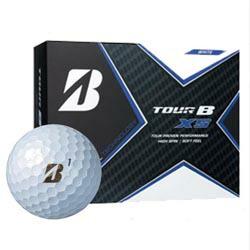 TOUR B XS ゴルフボール パールホワイト 1ダース (ゴルフボール / ブリヂストン・スポーツ)