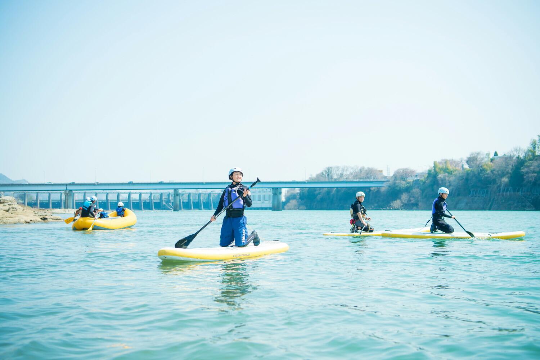 リバーボートパーク美濃加茂での川遊び