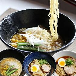 ラーメン堪能セット 醤油・有名店コラボ・味噌 老田屋 3種12食