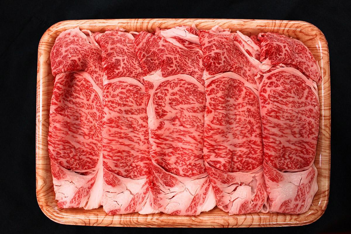 A4等級以上  飛騨牛 ロース肉 すきやき用 スライス 1kg