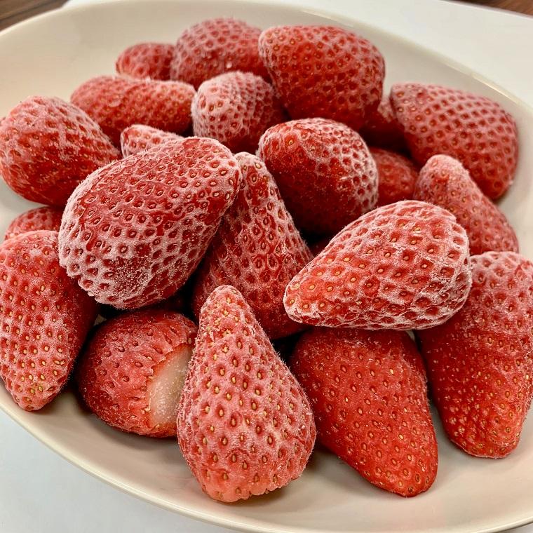三重県明和町 【ふるさと納税】【数量限定】夏にぴったり完熟冷凍いちご
