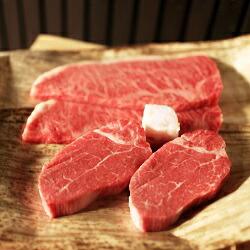 亀岡牛ヒレステーキ2枚・サーロインステーキ2枚セット 冷蔵便