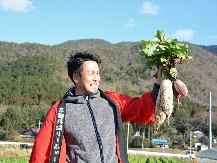 「京の台所」を守る!新鮮で美味しい京野菜や有機農産物を作る農家を育てたい!