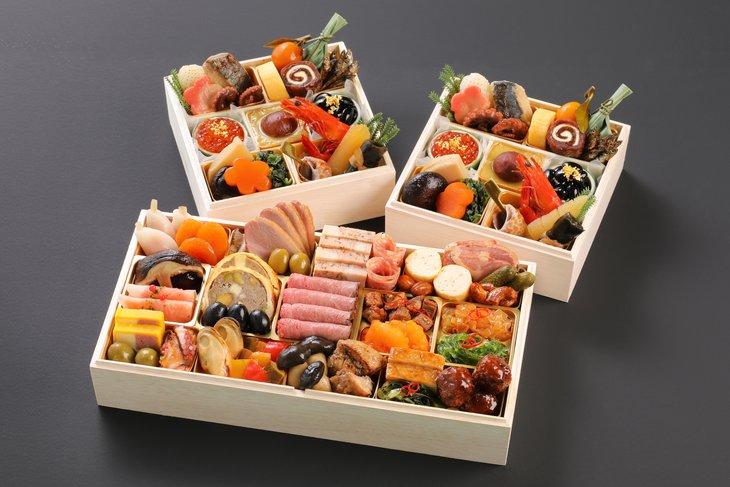 京都三千院の里&マノワール個食とオードブル おせち