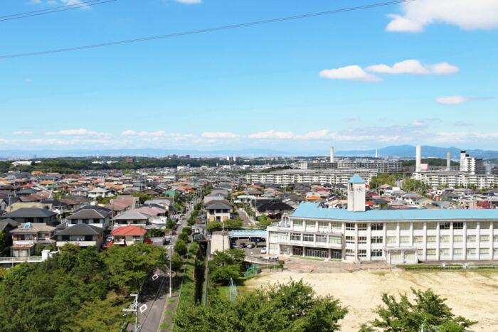 昭和40~50年代にかけてベッドタウンとして人口が急増