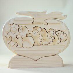 木工パズル おおきなかぶ おおさか河内材ヒノキ使用