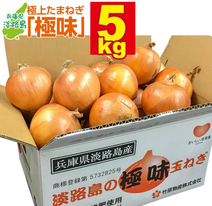 兵庫県南あわじ市 【ふるさと納税】淡路島の極味玉ねぎ 5kg