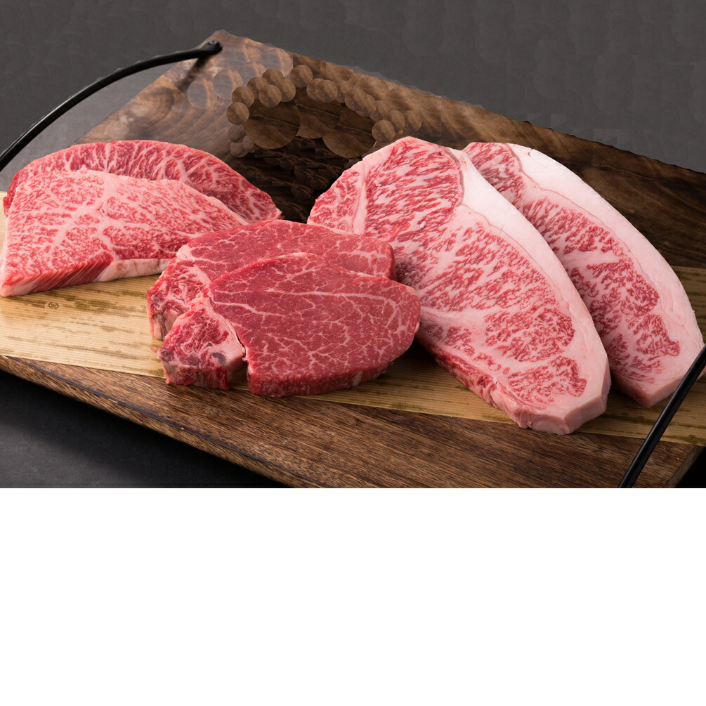 鳥取県 【ふるさと納税】【肉質日本一!】鳥取和牛プレミアムステーキセット