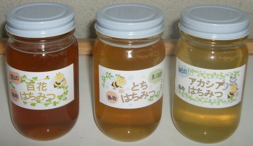 鳥取県鳥取市 【ふるさと納税】162 蜂蜜セットB