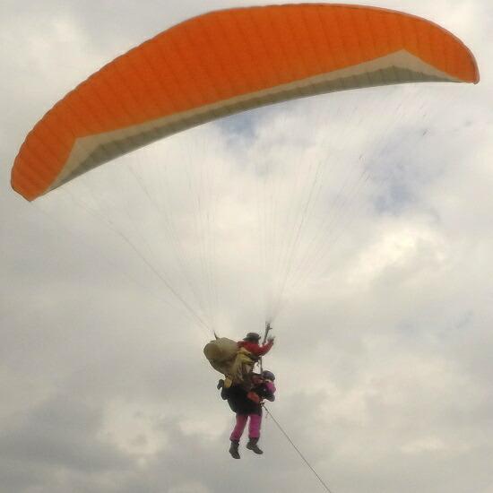 鳥取県鳥取市 【ふるさと納税】212 鳥取砂丘パラグライダー二人乗りタンデム体験