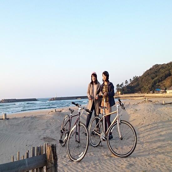 鳥取県鳥取市 【ふるさと納税】213 鳥取砂丘ダウンヒルサイクリング体験