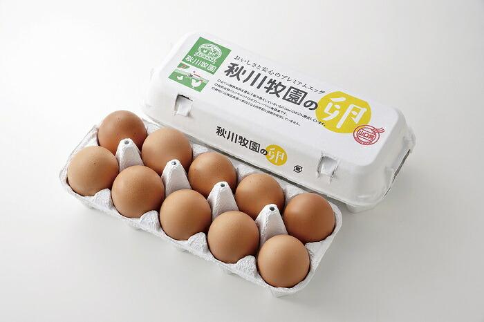 山口県山口市 30E-161【ふるさと納税】〈大容量〉秋川牧園の卵60玉セット