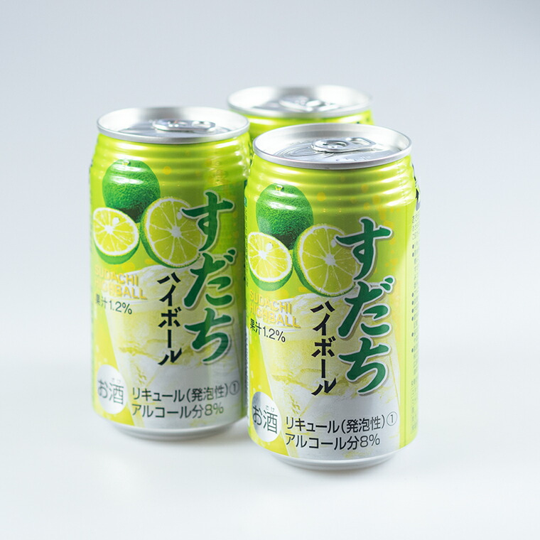 徳島県佐那河内村 【ふるさと納税】2ケースセット すだちハイボール