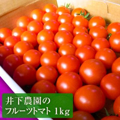 【ふるさと納税】井下農園のフルーツトマト 1kg