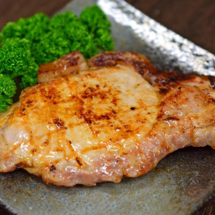 高知県大月町 【ふるさと納税】塩麹につけた力豚ロース 7パック