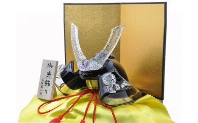 福岡県宗像市 【ふるさと納税】KA0328_健やかな成長を武将兜 GK-06KU