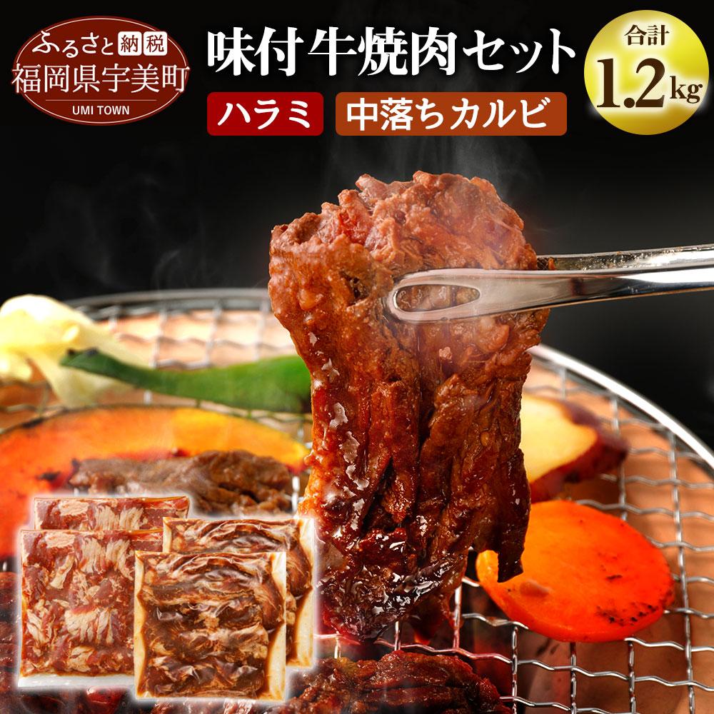 味付け牛焼肉セット合計約1.2kg