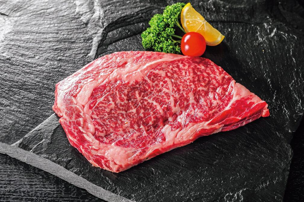 福岡県桂川町 【ふるさと納税】博多和牛 極厚ロースステーキ 900g