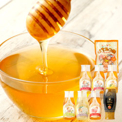 ポリチューブ全6種類 プロ仕様仕上げ専用蜂蜜 蜂蜜あめ1袋