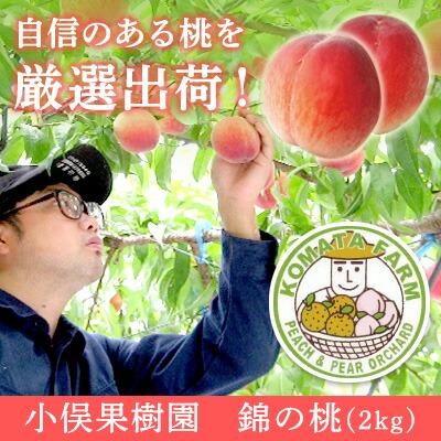 ふるさと納税 小俣果樹園 錦の桃(2Kg)