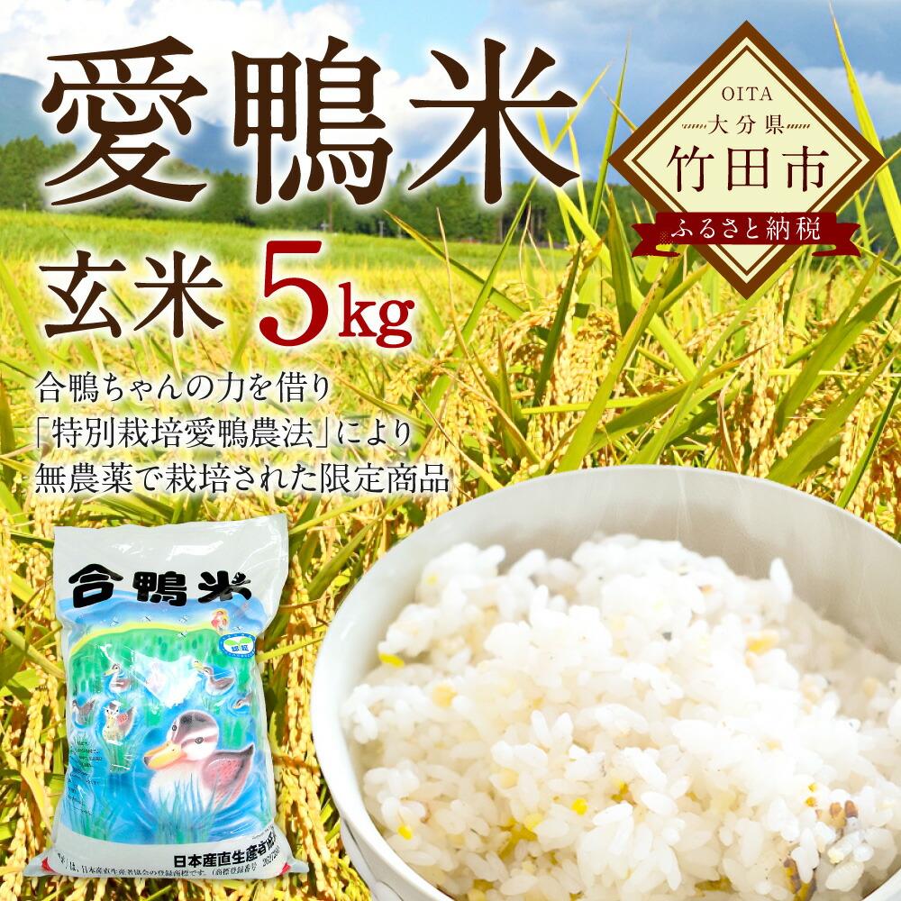 愛鴨米玄米5kg